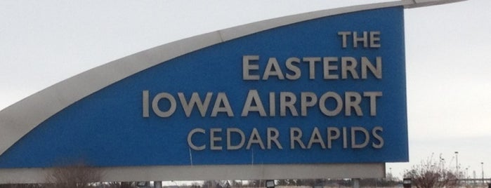 The Eastern Iowa Airport is one of Airports I've flown into professionally.