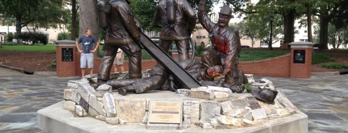NC Fallen Firefighters Memorial is one of Welcome to Raleighwood! #visitUS.