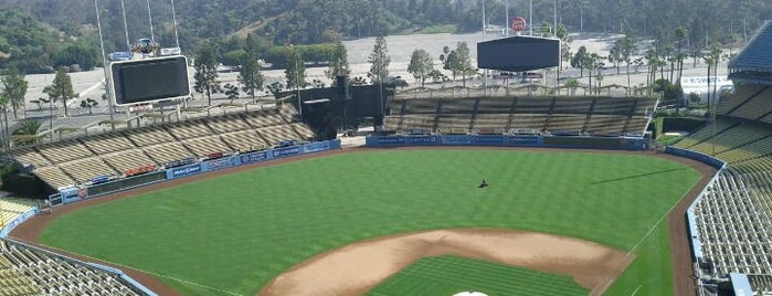Dodger Stadium is one of MLB Baseball Stadiums.