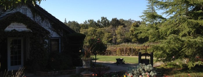 Mount Vernon Winery is one of Califórnia.