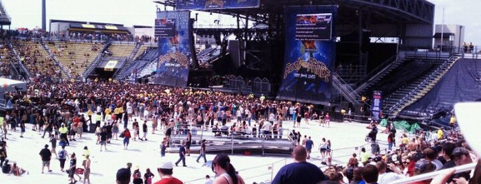 Rock On The Range is one of Big Matchs's Today!.