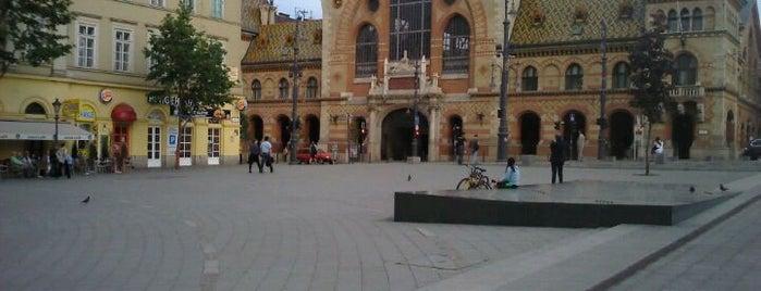 Fővám tér is one of Must Do's in Budapest.