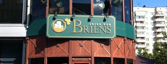 O'Briens is one of Бары-пабы-кабаки.