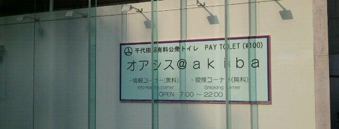 Oasis @akiba is one of Matsunosuke : понравившиеся места.