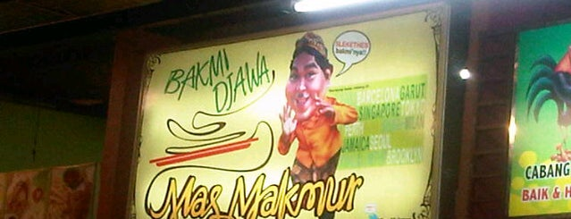 Bakmi Djawa mas Makmur is one of Rawamangun fav.Place.