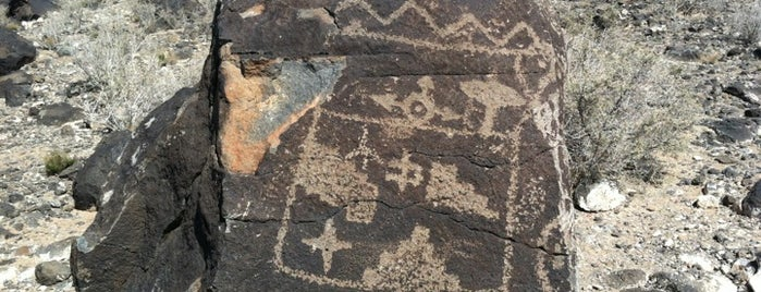 Petroglyph National Monument is one of Historic Route 66.