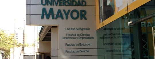 Universidad Mayor Campus Manuel Montt is one of Providencia.