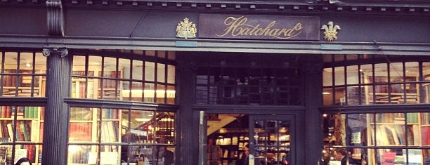 Hatchards is one of London.