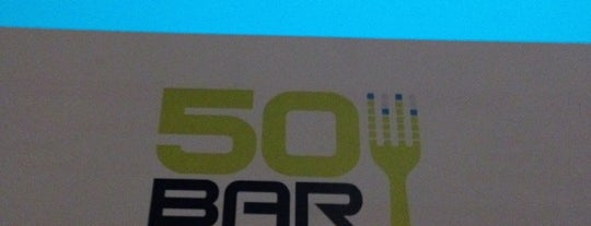 50 Bar is one of Foursquare Day 2012 - helyszínek.