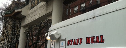 Staff Meal Food Truck is one of Best Boston Restaurants 2012.