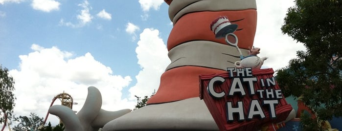 The Cat in the Hat is one of The Crowe Footsteps.