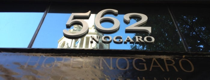 562 Nogaró is one of สถานที่ที่บันทึกไว้ของ Alexander.