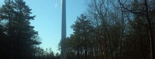 Wind Turbine is one of out of town.