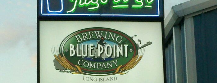 Blue Point Brewing Company is one of Local MicroBreweries.