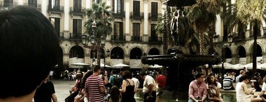 Plaça Reial is one of BCN musts!.