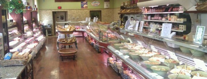 Delfini Gourmet Deli is one of Italian.