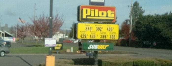 Pilot Travel Centers is one of Vern's Liked Places.