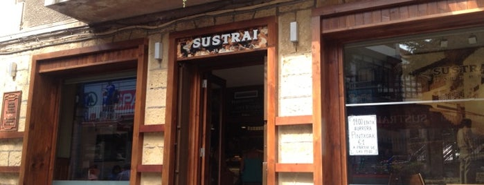 Sustrai is one of Ruta posavasos | GetxoPhoto.