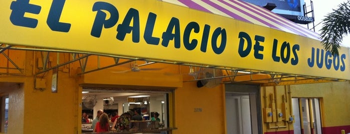 El Palacio De Los Jugos is one of Sandwiches cubanos en Miami.