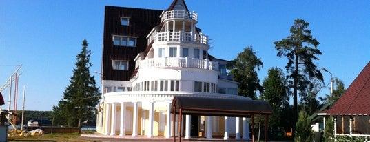 База отдыха «Троицкое» is one of Orte, die Anna gefallen.
