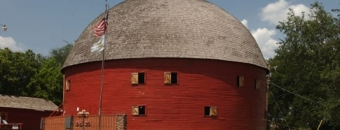 Arcadia Round Barn is one of Historic Route 66.