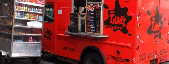 NYC Love Street Coffee is one of NYC Food on Wheels.
