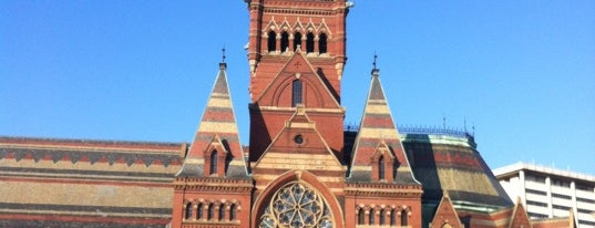 Harvard Memorial Hall is one of USA Roadtrip.