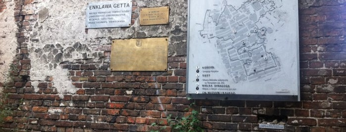 Jewish Ghetto Wall in Warsaw is one of Warsaw.