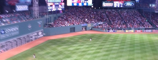 Fenway Park is one of Baseball Stadiums.
