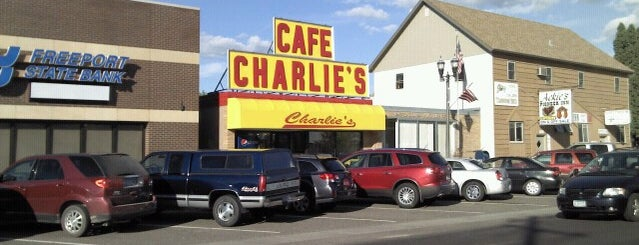 Charlie's Cafe is one of Glacier to Chicago.