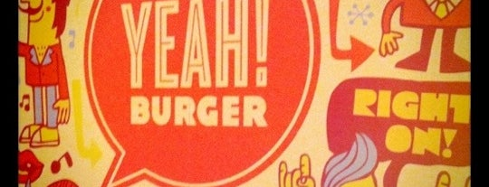 YEAH! Burger is one of Atlanta Eats.