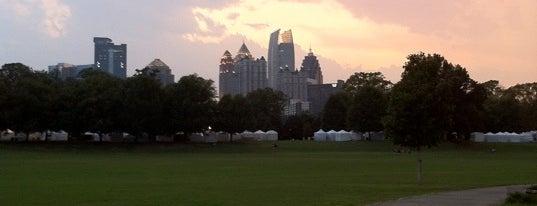 Piedmont Park is one of My midtown Atlanta.