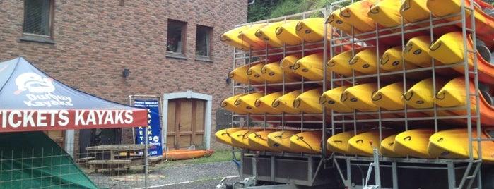 Durbuy Kayaks is one of Uitstap idee.