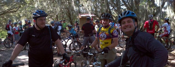 Alafia Mtn Bike Trails is one of Best of South Tampa Outdoors.