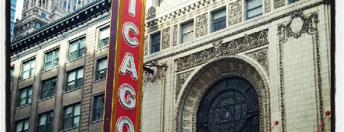 The Chicago Theatre is one of Things to do in Chicago.