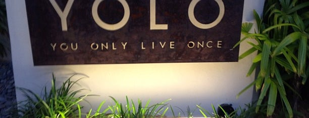 YOLO is one of Happy Hour #VisitUS.