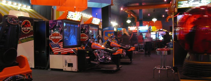 Dave & Buster's is one of Best Video Arcades.