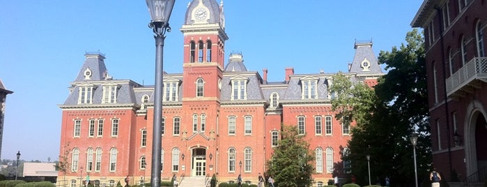 West Virginia University is one of College Love - Which will we visit Fall 2012.