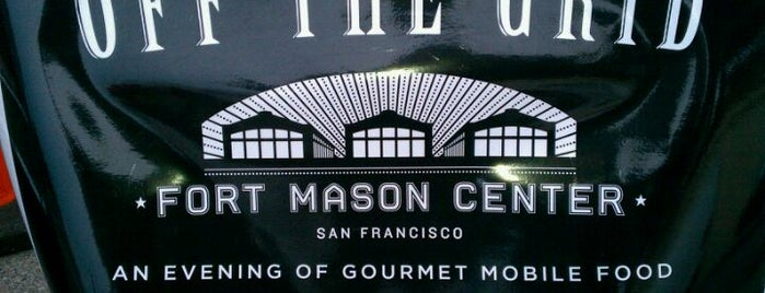 Off the Grid: Fort Mason Center is one of Food Trucks and Stands.