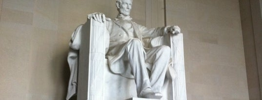 Lincoln Memorial is one of Places that are checked off my Bucket List!.