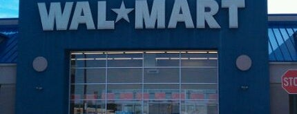 Walmart is one of Work Locations.