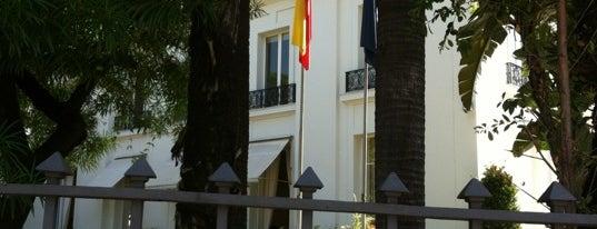 Consulado Geral da Espanha is one of Tempat yang Disukai Fernando.