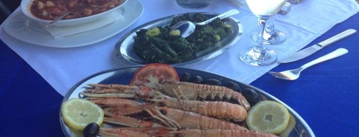 Riblji Restoran Komiza is one of Laurent's Liked Places.