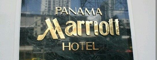 Panama Marriott Hotel is one of Stoneさんのお気に入りスポット.