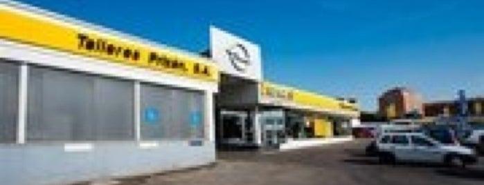 Talleres Prizan - Opel is one of Tempat yang Disukai Jonatan.