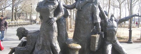 Immigrants Sculpture is one of Manhattan.