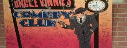 Uncle Vinnie's Comedy Club is one of Venues, Entertainment & Live Music / DJ.