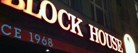 Block House is one of Lieux qui ont plu à Tekin.