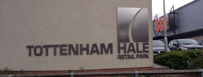 Tottenham Hale Retail Park is one of Spring Famous London Story.
