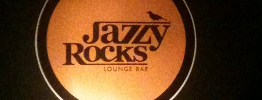 Jazzy Rocks Lounge Bar is one of Marlos'un Kaydettiği Mekanlar.